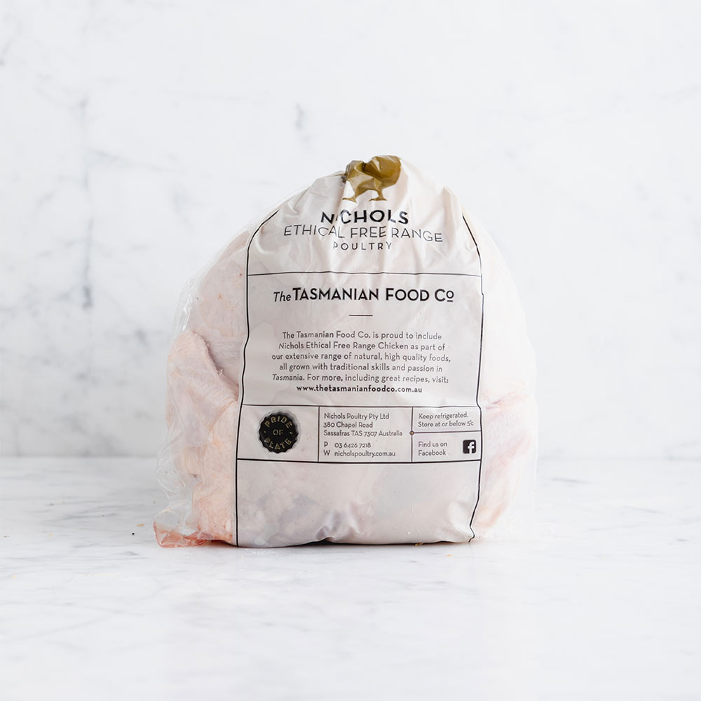 Nichols Ethical Free Range Chicken - Whole Chook (FRZ)