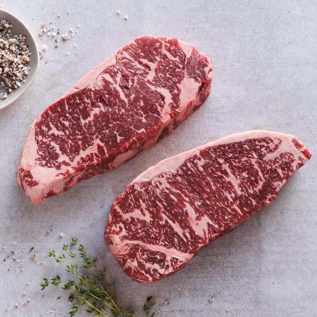 AACo Wagyu Steaks - Marble Score 5+