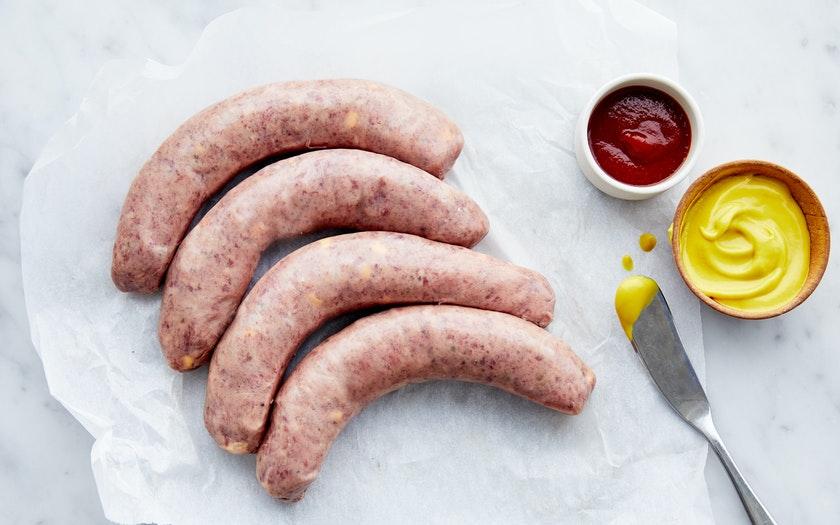Signature Wagyu American Cheeseburger Sausages - 500GM